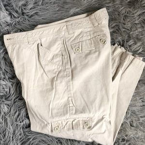 Royal Robbins Beige Capri Pants Size 10
